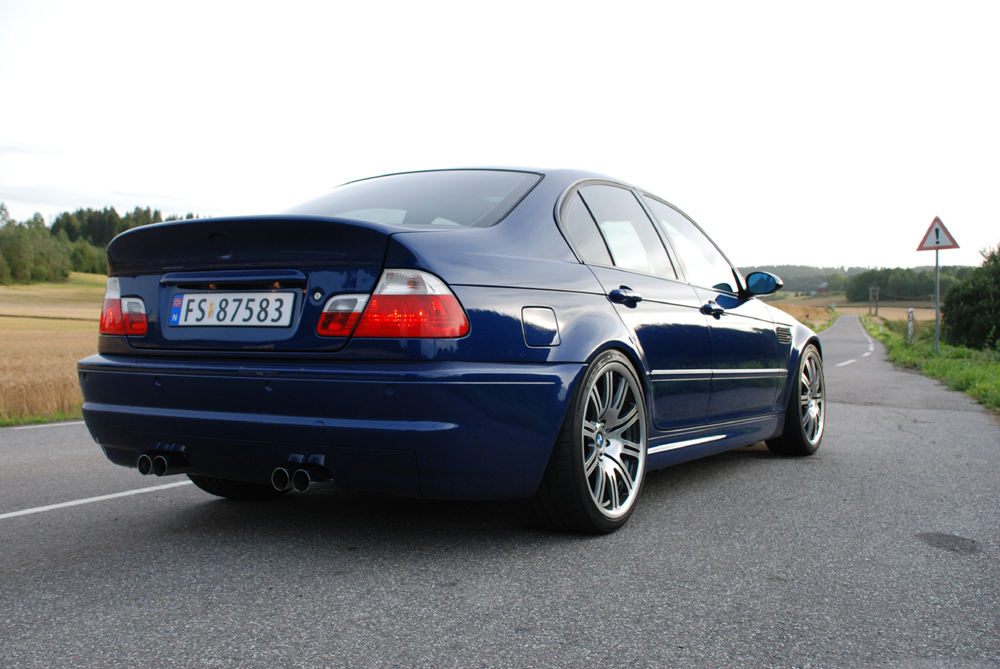Spotted 4 Door E46 M3