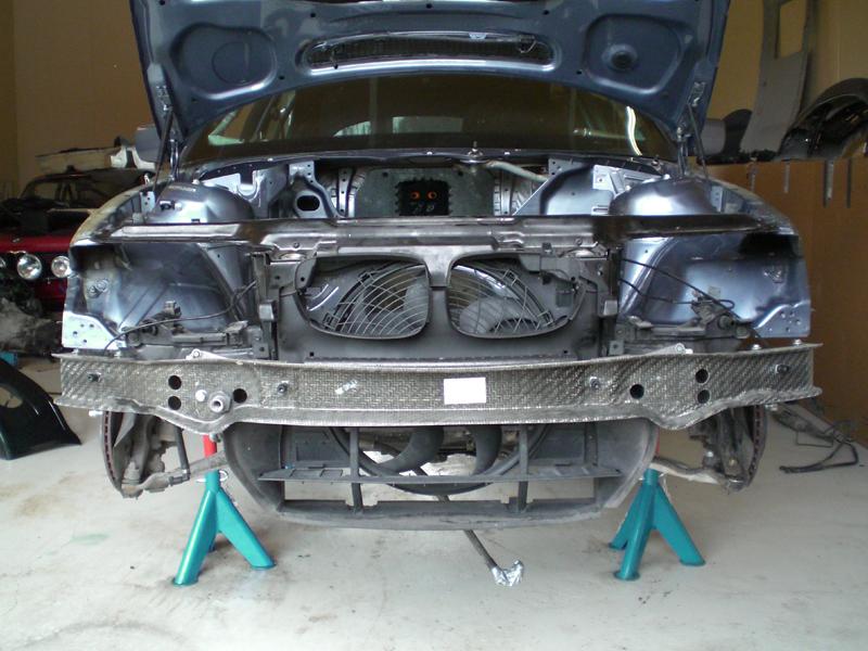 bmw e46 m3 bumper removal